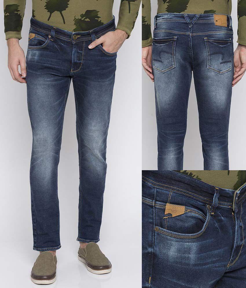 08588c475e652 Spykar Blue Super Skinny Jeans - Buy Spykar Blue Super Skinny Jeans Online  at Best Prices in India on Snapdeal