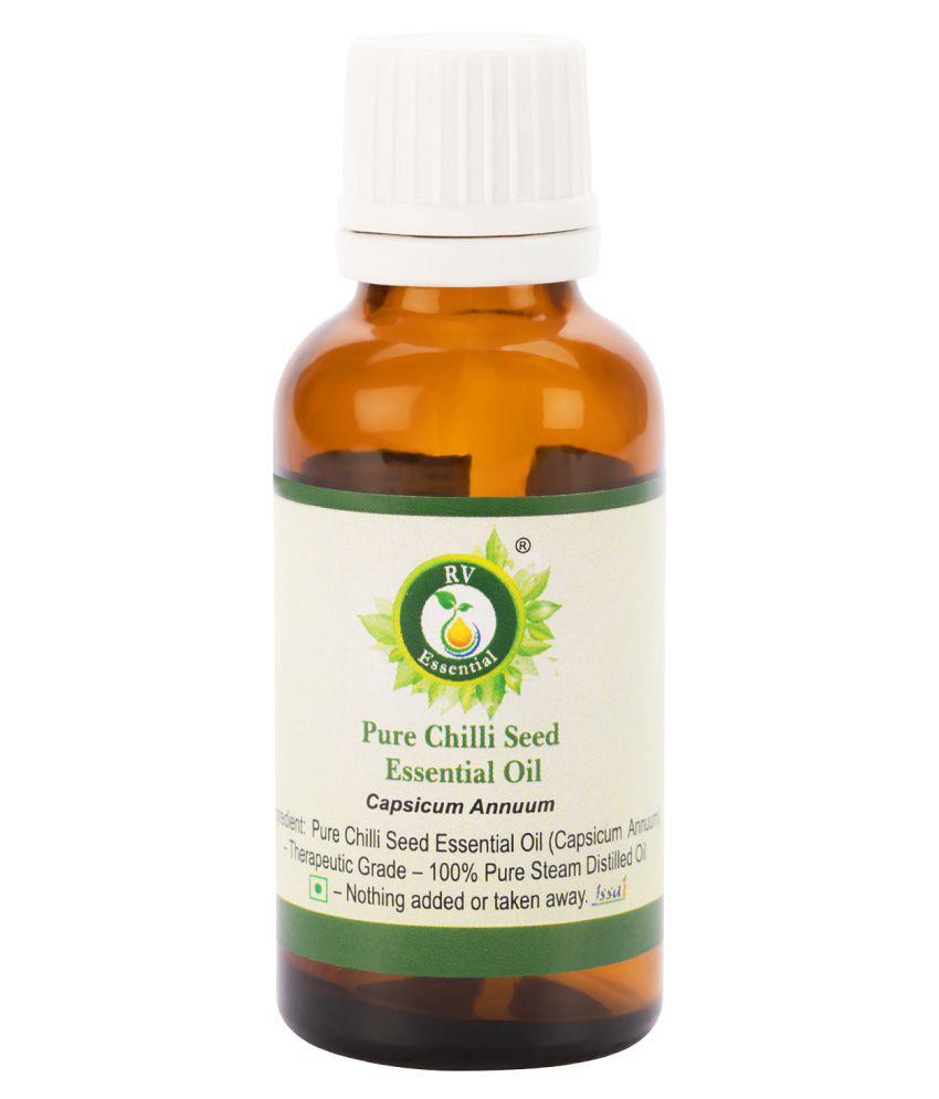 R V Essential Pure Chilli Seed Essential Oil Essential Oil 50 mL