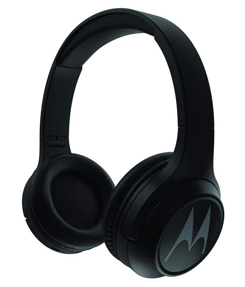 4c3b7841f6c973 Motorola Escape 210 Bluetooth Over Ear Wireless Headphones With Mic - Buy  Motorola Escape 210 Bluetooth Over Ear Wireless Headphones With Mic Online  at Best ...