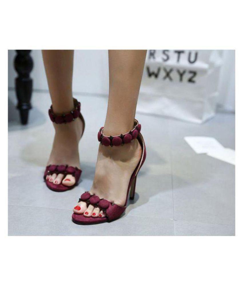 Unbranded Red Stiletto Heels