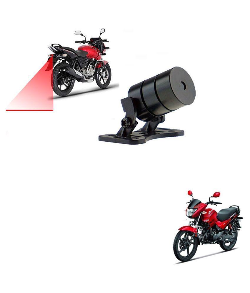 Auto Addict Bike Styling Led Laser Safety Warning Lights Fog Lamp,Brake Lamp,Running Tail Light-12V For Hero Glamour PGmfi