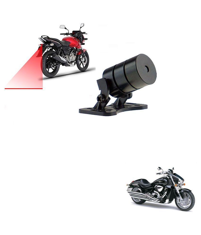 Auto Addict Bike Styling Led Laser Safety Warning Lights Fog Lamp,Brake Lamp,Running Tail Light-12V For Suzuki Intrader