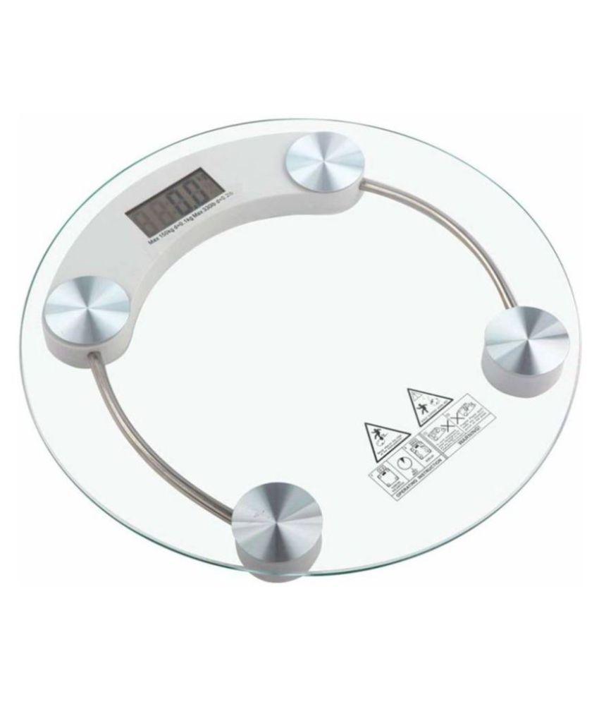 SBA SBA Modren Personal Health Human Body Weight Machine X2003A 8mm Round Glass Weighing Scale X2003A