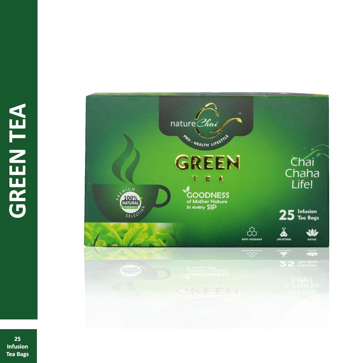 nature Chai Green Tea Bags 50 gm