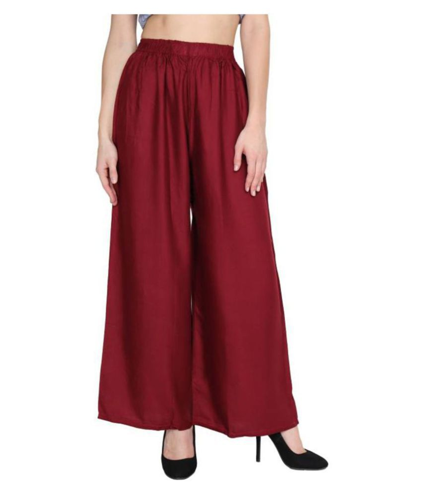 Fashion Arcade Rayon Casual Pants