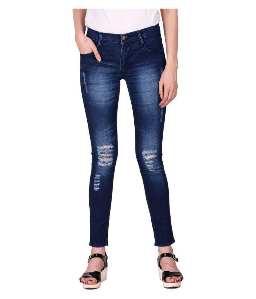 Ansh Fashion Wear Denim Jeans - Blue