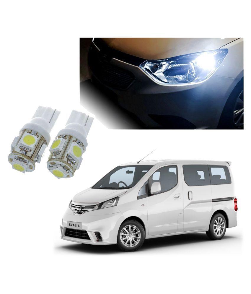 Auto Addict Car T10 5 SMD Headlight LED Bulb for Headlights,Parking Light,Number Plate Light,Indicator Light For Nissan Evalia