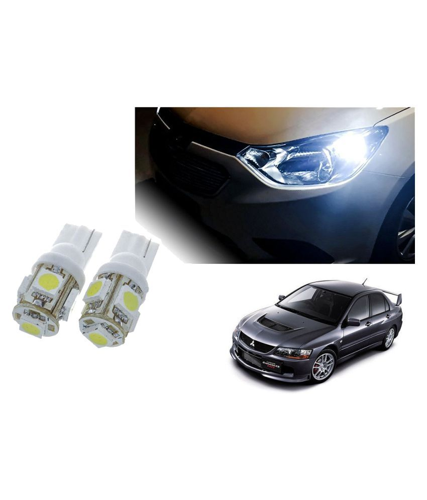 Auto Addict Car T10 5 SMD Headlight LED Bulb for Headlights,Parking Light,Number Plate Light,Indicator Light For Mitsubishi Lancer