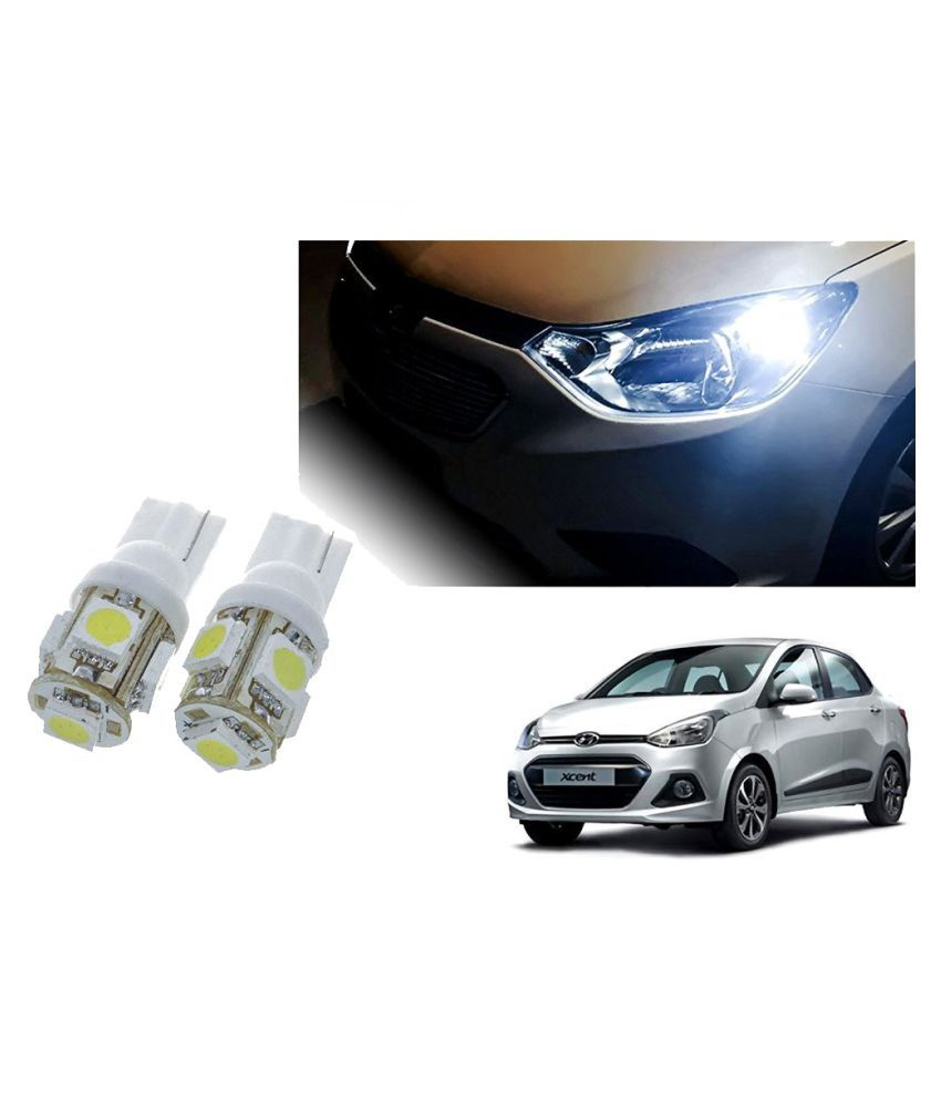 Auto Addict Car T10 5 SMD Headlight LED Bulb for Headlights,Parking Light,Number Plate Light,Indicator Light For Hyundai Xcent