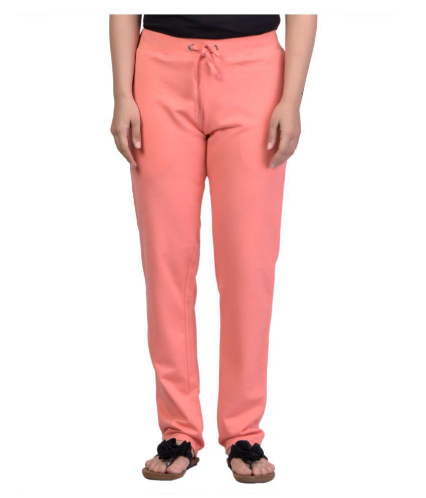 Kaily Cotton Pajamas - Peach