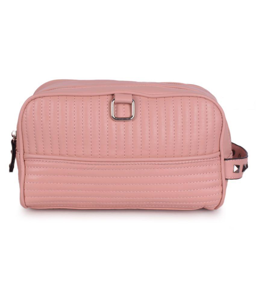 Bagkok Pink P.U. Handbags Accessories