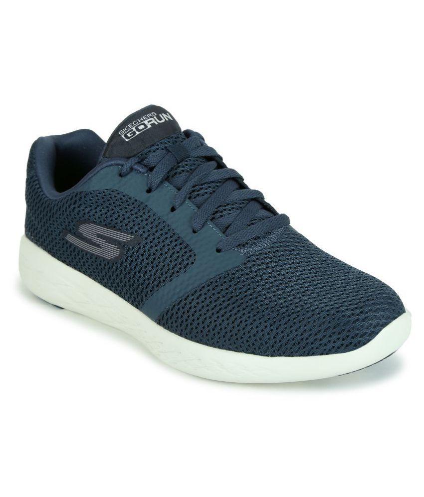 Skechers GO RUN 600 Navy Fonctionnement chaussures