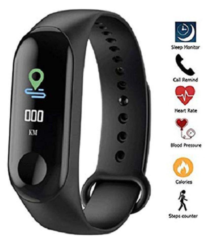 MISHREE PS M3 Waterproof Heart Monitoring Smart Fitness Band Heart Rate Monitor Bluetooth Smartband