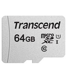 Transcend 64 GB Class 10 Memory Card