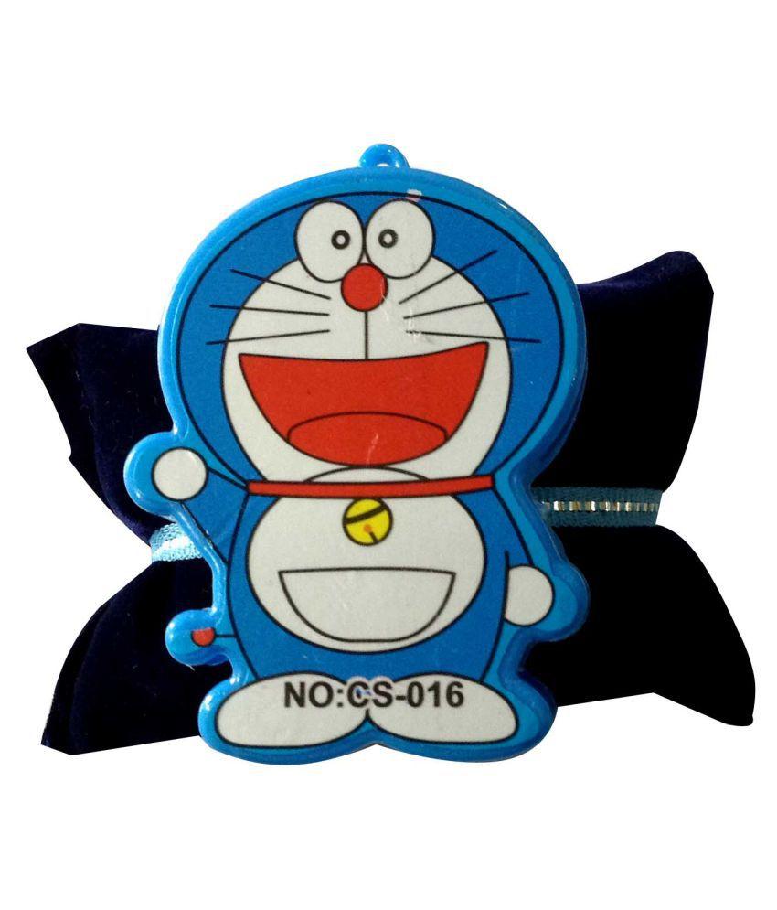 Kids Rakhi Cute Doraemon with pencil Sharpner inside Blue Pack of 1