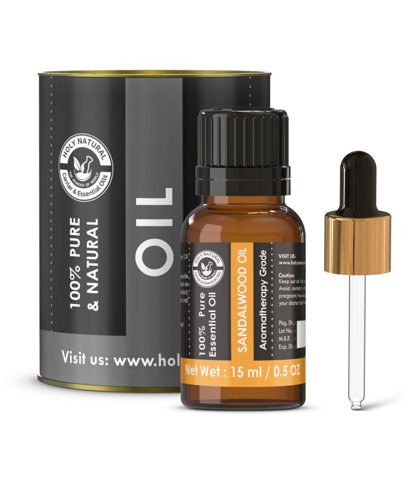 Holy Natural Sandalwood Essential Oil 15 mL
