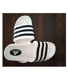 Adidas White Slide Flip flop