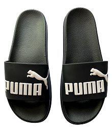 Puma Black Slide Flip flop