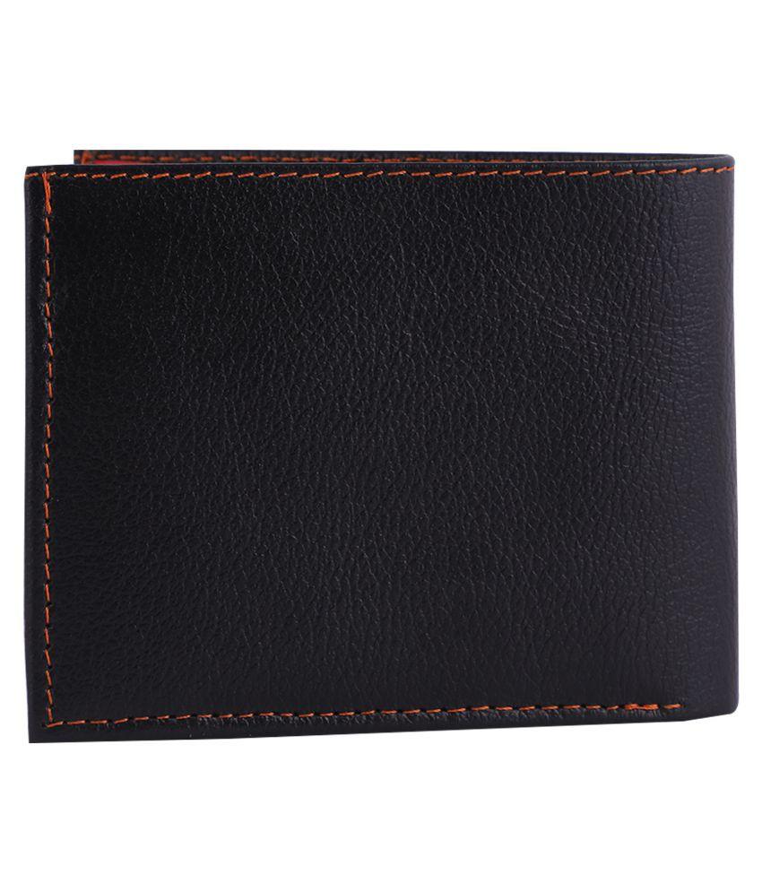 DECENT DESIRE Leather Black Formal Regular Wallet