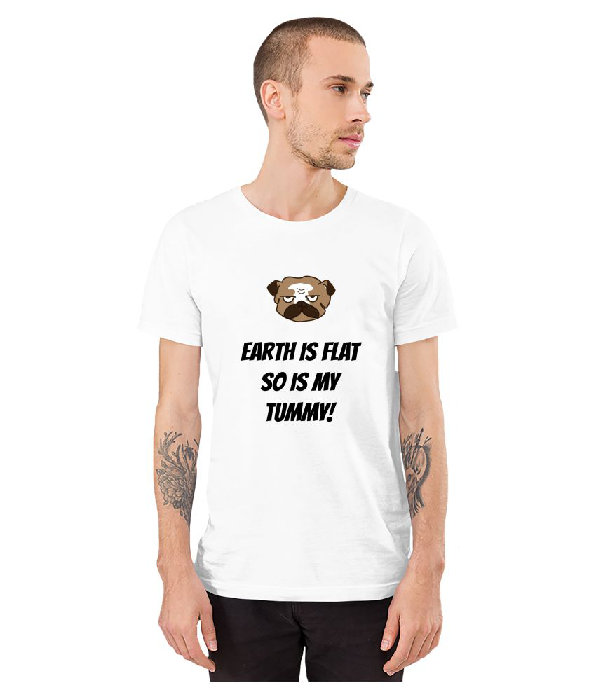 BarredFromHell 100 Percent Cotton White Quotes T-Shirt