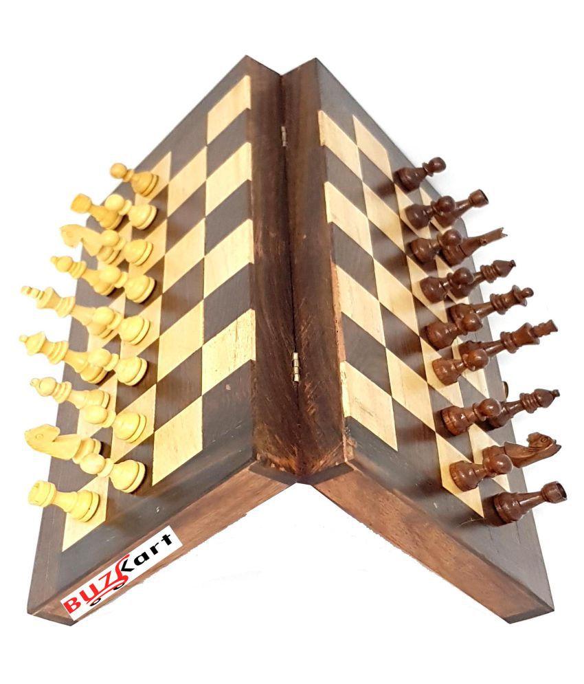 Buzykart Wooden Multicolor Board Games 12 Inches