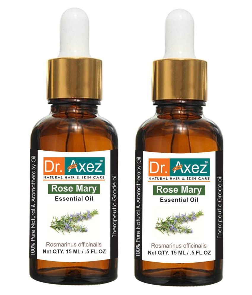 Dr. Axez Rosemary Pack of 2 Essential Oil 15 mL