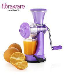 Floraware Purple Manual Juicer