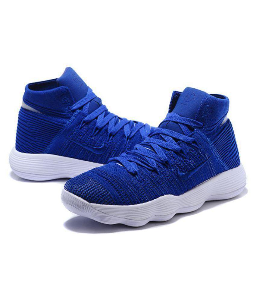 on sale 386de e8f6f ... Nike HYPERDUNK 2018 FLYKNIT Blue Basketball Shoes ...