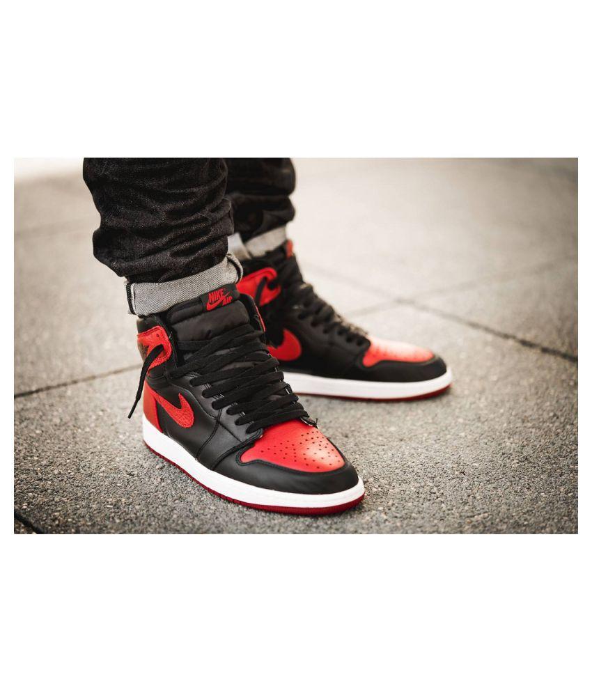 Bred High Running Shoes Og Black Nike Ybfy6g7
