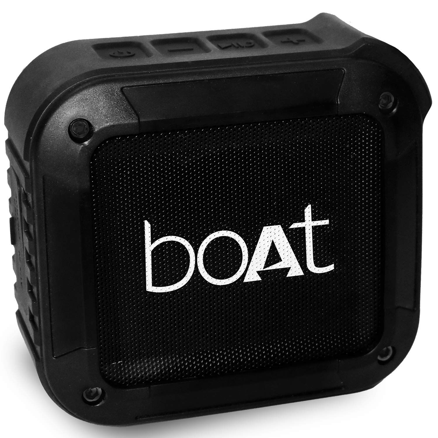 Boat Stone 210 Bluetooth Speaker With Mic (Black)