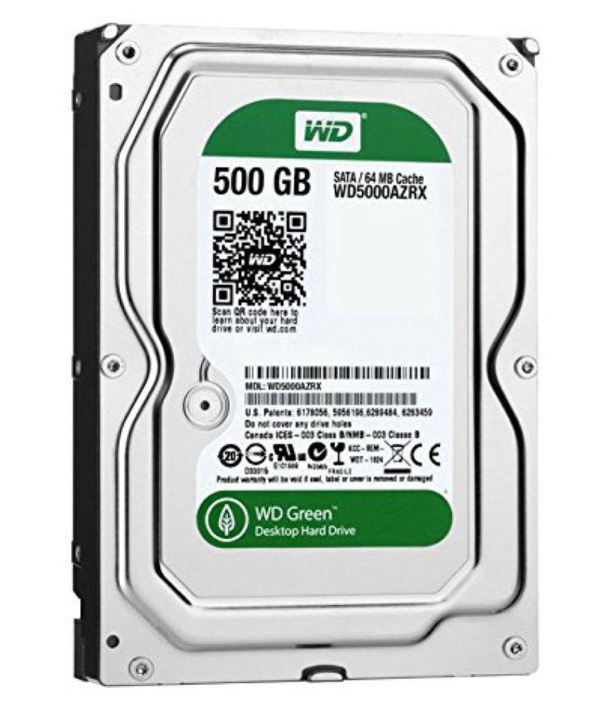 LA WD 500 GB Internal Hard Drive Internal Hard drive