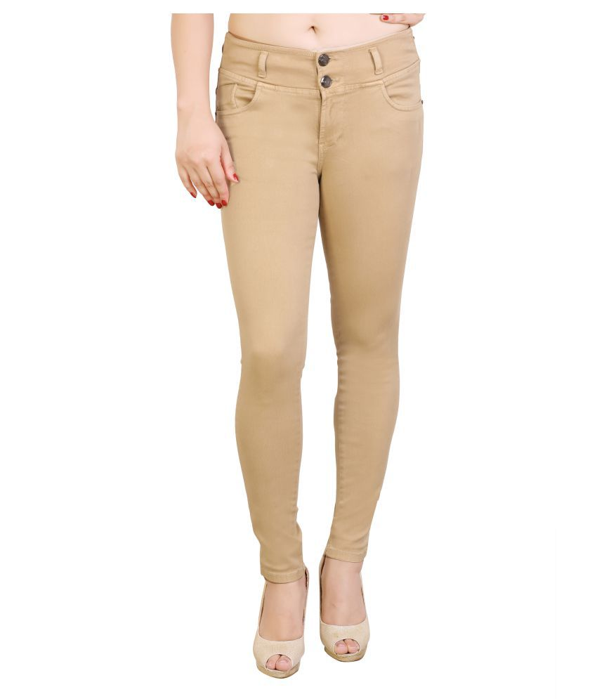 FCK-3 Denim Jeans - Beige