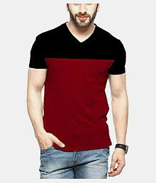 a4b8585a5fe V-Neck T-Shirt: Buy V-Neck T-Shirt for Men Online at Low Prices in ...
