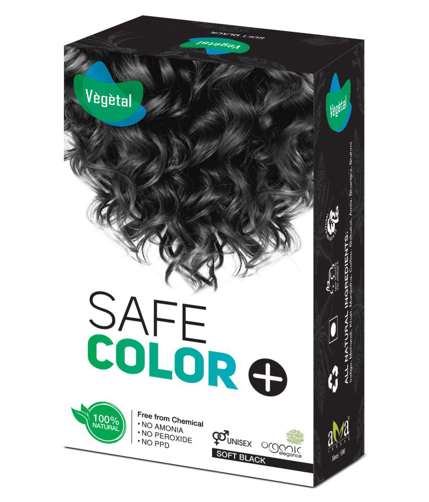 Vegetal Temporary Hair Color Black 100 g