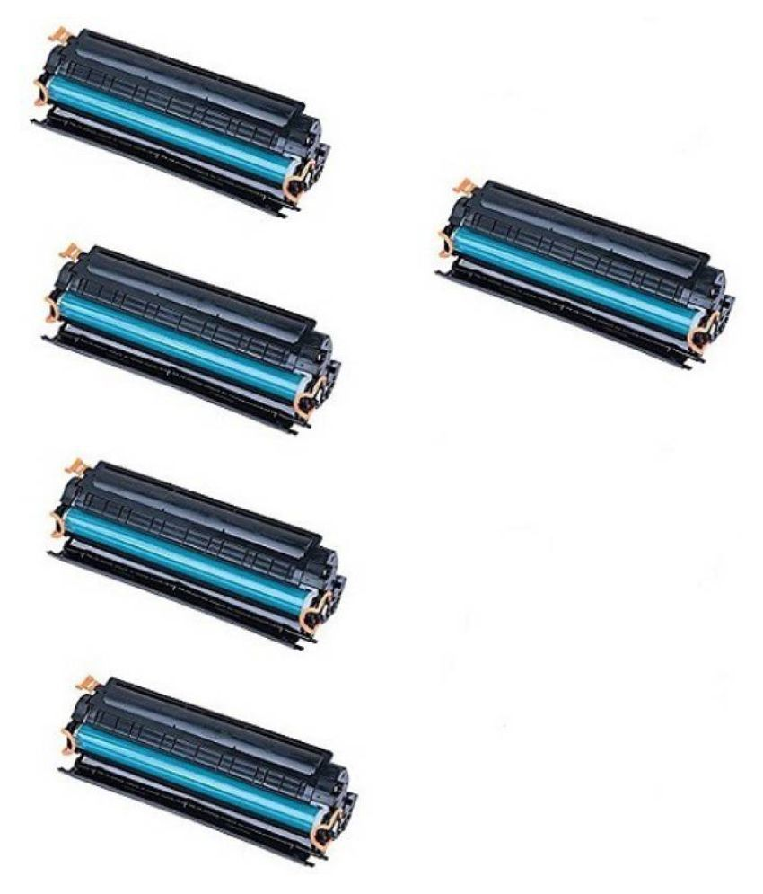 Kataria 88A Black Pack of 5 Toner for P1007, P1008, P1106, P1108, M1136 MFP, M1213nf, M1216nfh, M1218nfs,