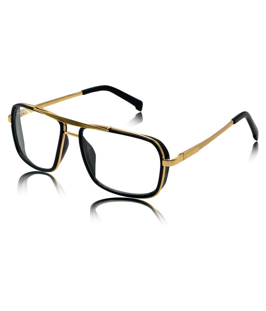 RESIST - Clear Rectangle Sunglasses ( Rb-aksquare-gf-clear )
