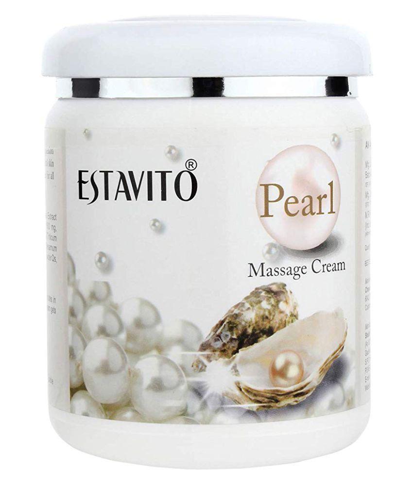 Estavito Pearl Cream Face& Body Massage Cream Day Cream 500 ml