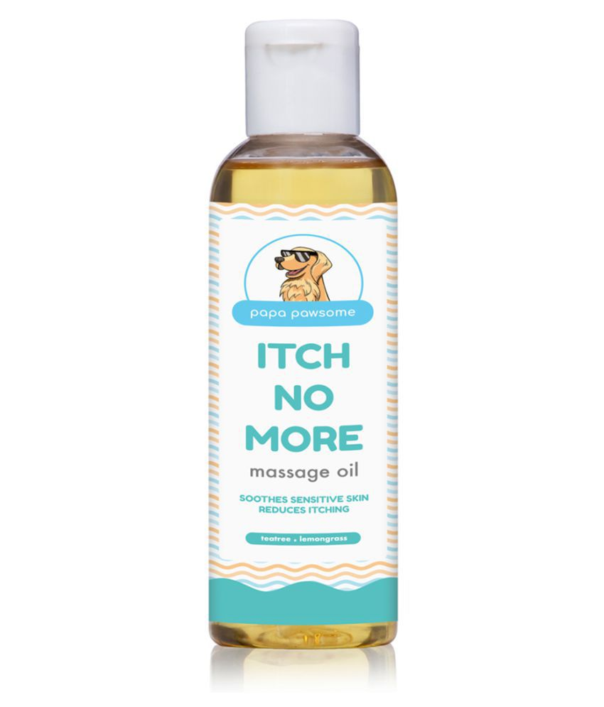 Papa Pawsome Itch No More Massage Oil for Pet Dogs (250 ml)