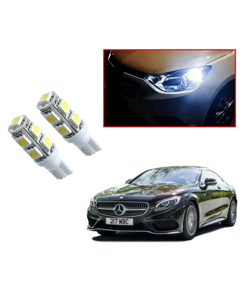 Auto Addict Car T10 9 SMD Headlight LED Bulb for Headlights,Parking Light,Number Plate Light,Indicator Light For Mercedes Benz S Coupe