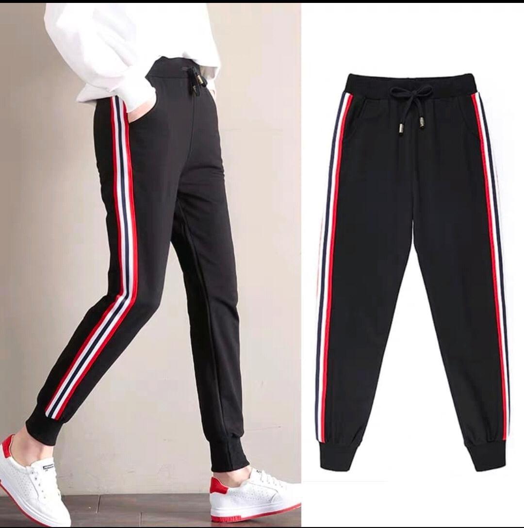 Latest Street Fashion Cotton Lycra Jeggings - Black
