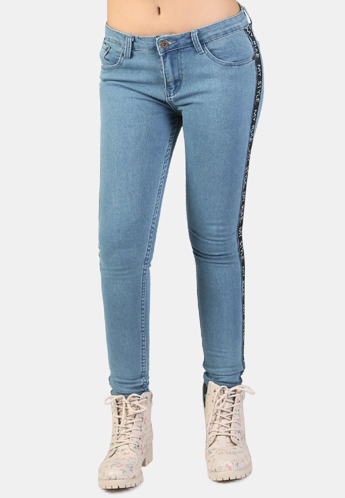 London Rag Cotton Jeans - Blue