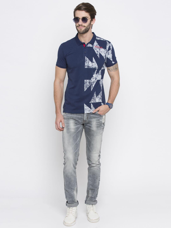 Spykar 100 Percent Cotton Green Solids Shirt