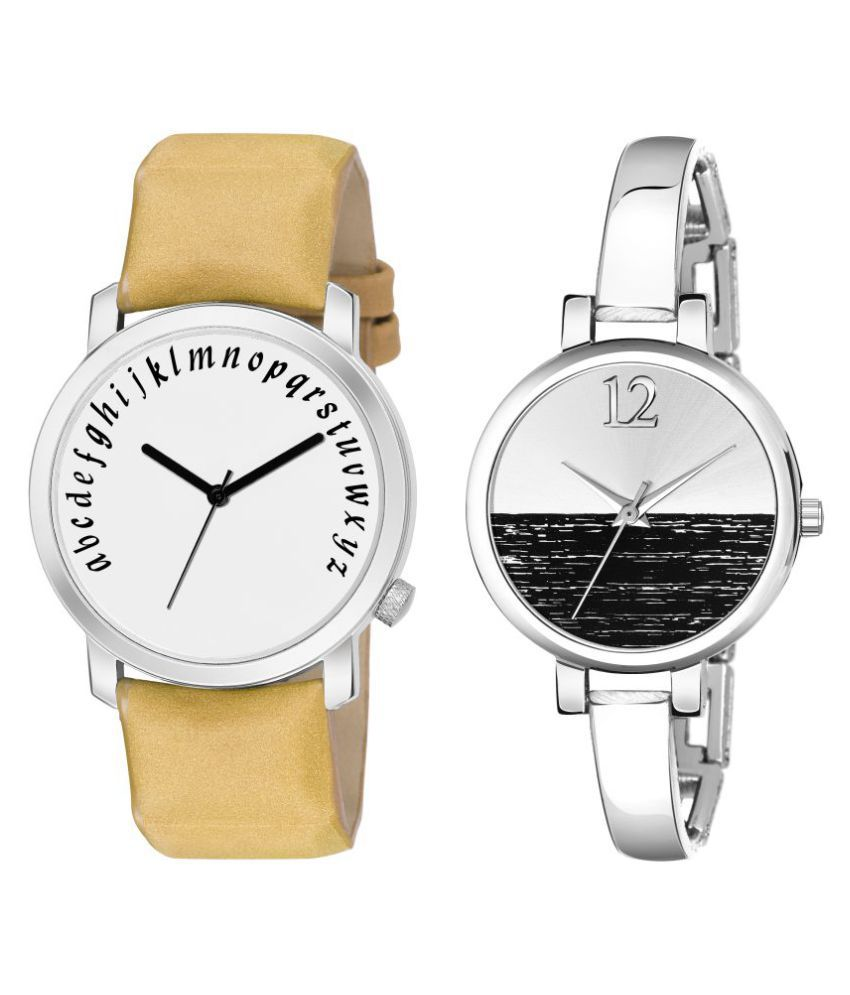 Newmen Unique Style Analog Watch For Couple
