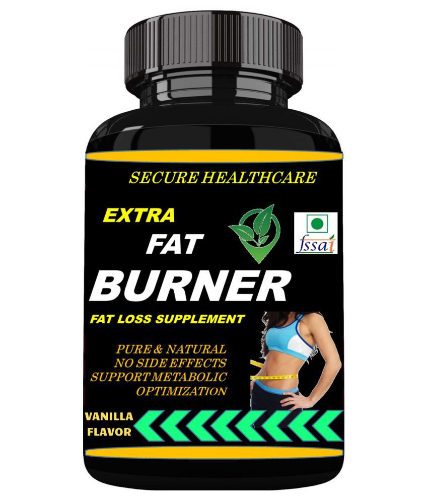 Secure Healthcare Extra Fat Burner Vanilla Flavor Powder 100 gm Pack Of 1