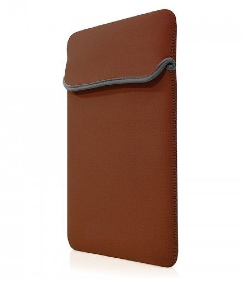 wolfano Brown Laptop Sleeves