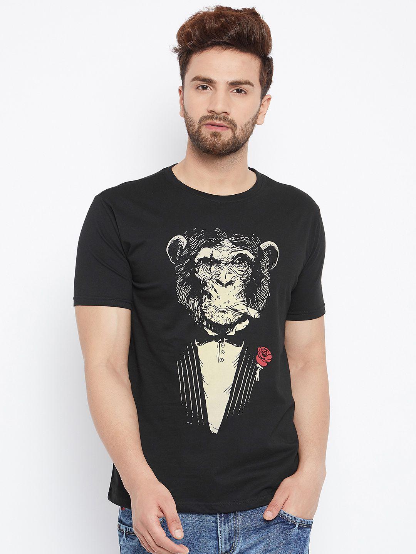 Bombay Clothing Company Black Cotton Blend Polo T-Shirt Single Pack