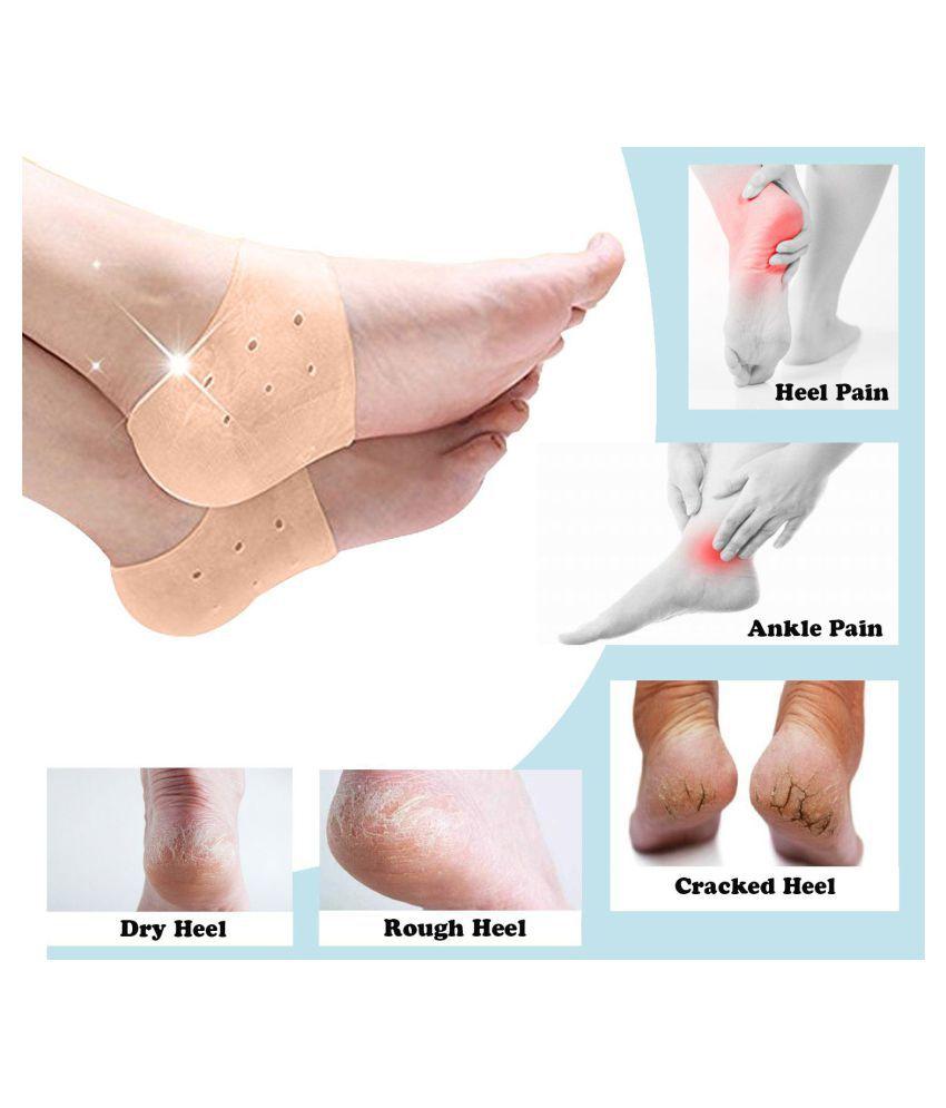 RITZKART Silicone foot Heel Anti-Crack Sets Heel Support