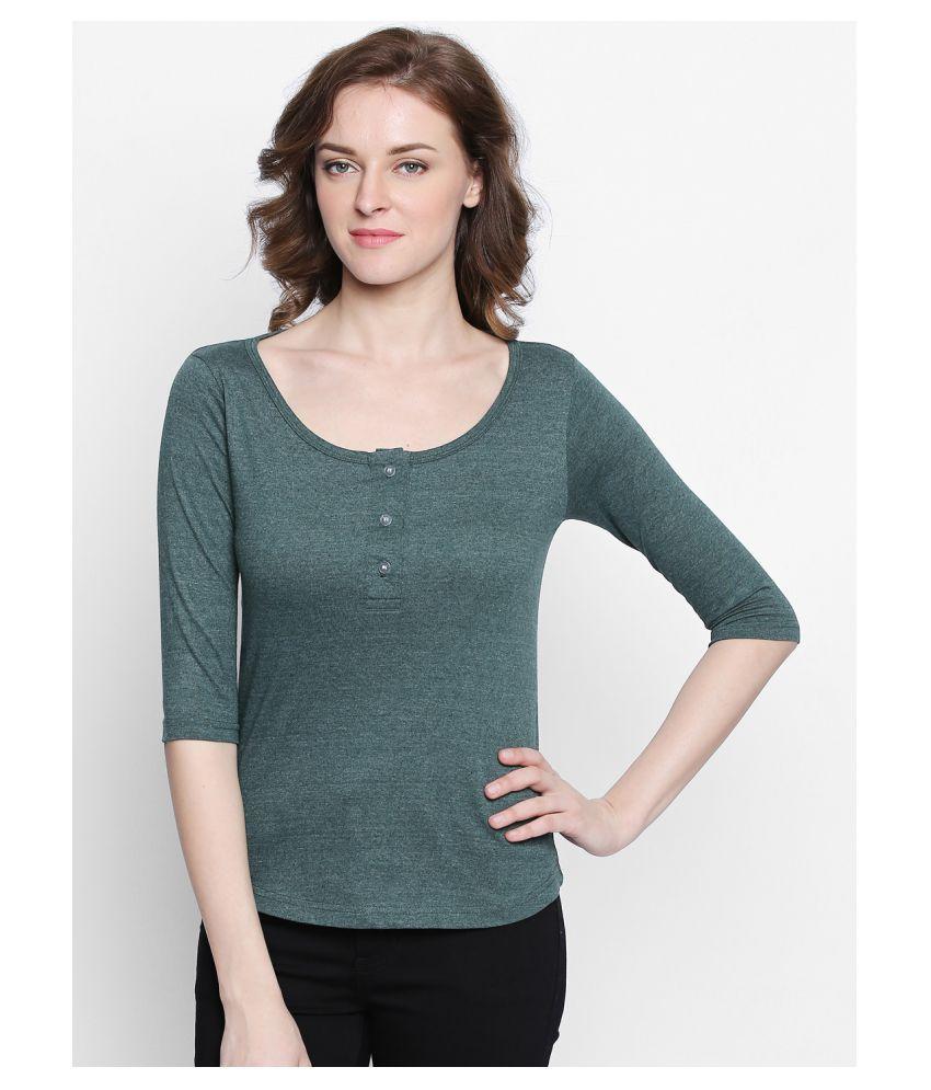 Bombay Clothing Company Khaki Cotton Blend Shirt