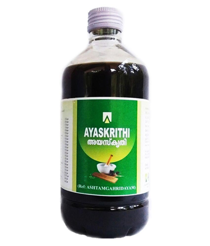 Aswini Pharmaceuticals Ayaskrithi Liquid 450 ml Pack Of 1