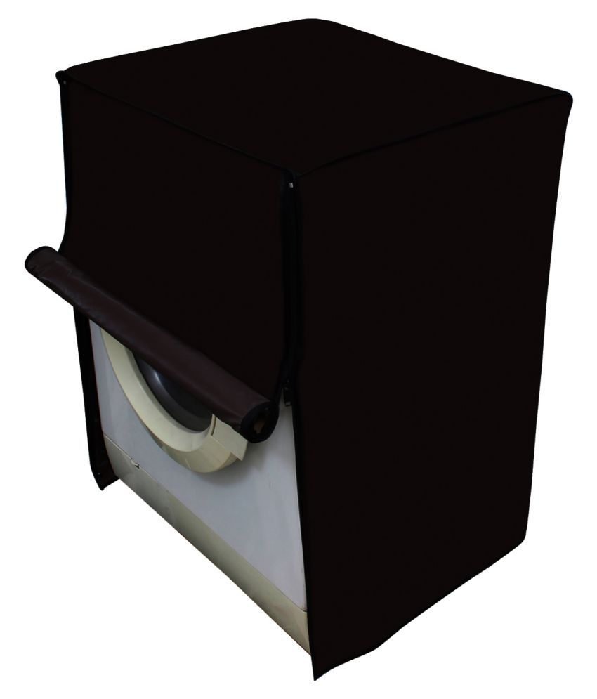 Dream Care Single PVC Brown Washing Machine Cover for Samsung 7 kg Fully Automatic